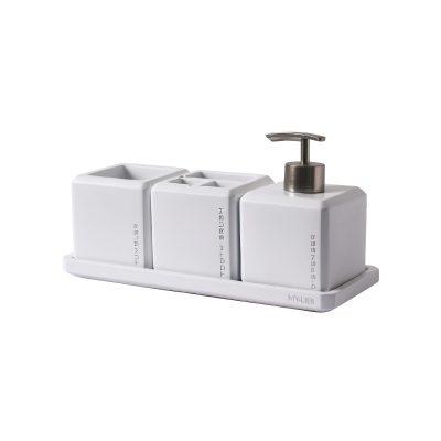 סט אביזרי אמבטיה מונח 4 חלקים
