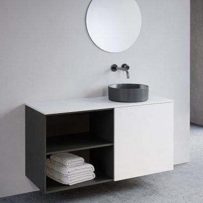 """ארון אמבטיה תלוי אפוקסי דותן 60 ס""""מ"""