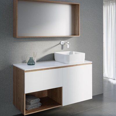 """ארון אמבטיה תלוי אפוקסי אפיק 60 ס""""מ"""