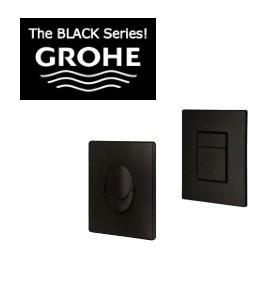 לחצן הפעלה שחור GROHE עגול/מרובע